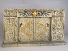 Egyptian Doors | Egyptian tomb doors - Professional wargames miniature and scenery ...