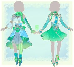 :Comm: outfits for Moonbeam by MMtheMayo.deviantart.com on @DeviantArt