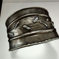 Metal Cuff Bracelet Mixed metal cuff bracelet made with stainless steel, handmade.  One size ,,you can adjust it to your wrist Jewelry Bracelets