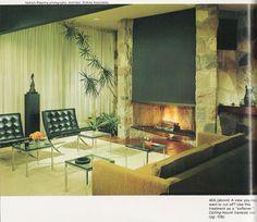 Modern mid-70s living room