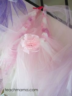 fairy party: skirt pink