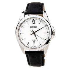 Seiko Strap Men's Quartz Watch SGEG77