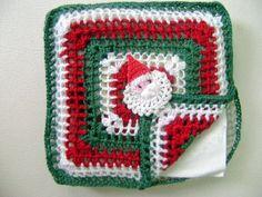 Servilletero de Navidad en crochet - Blog Círculo - Libera tu creatividad