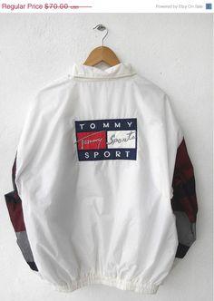 25% SALE 90's Vintage Vtg TOMMY Hilfiger by CaptClothingVintage