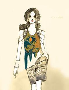 The Eye by Farah Dina Hera #eye #shirt #design