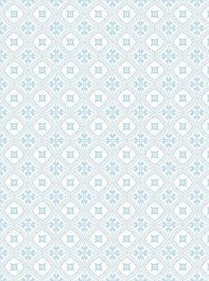 Diseño en celeste y blanco