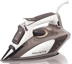Rowenta Focus Micro Steam Iron Stainless Steel Soleplate with A. Rowenta Micro Steam Iron Stainless Steel Soleplate with Auto-Off, Brown, Steam Iron Reviews, Best Steam Iron, Best Iron, Rowenta Steam Iron, Home Steamers, Fabric Steamer, Iron Steamer, How To Iron Clothes, Scrappy Quilts