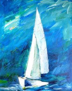 Christy Sverre paints inspiring and unique semi-abstracts. Her art is found in private collections in Canada, United States, Norway, France and Singapore. Nautical Art, Norway, Singapore, Boats, Sailing, United States, Canvas, Abstract, Ships