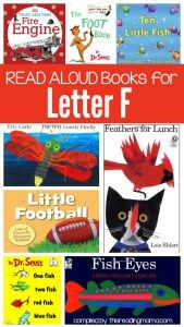 Letter F Book List Read Aloud Books for Letter F