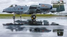 https://flic.kr/p/UhtHMw | Double Trouble | The A-10 East Heritage Flight Team's A-10s and their reflections on the rain soaked ramp at Manassas Airport. To view a hi-res version and for more information visit my website:Leaseweb Manassas Airshow 2017
