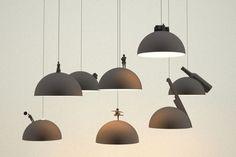LAND LAMPS, LAMPADE CHE RACCONTANO UNA STORIA, DESIGN BY LEONARDO FORTINO