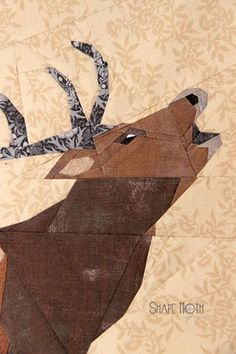 Celebrate a timeless and adorable holiday classic by learning how to make a paper pieced quilting block that features your yuletide best friend.