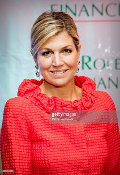 News Photo : Queen Maxima of The Netherlands at the Enhancing...