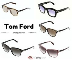 63808101024e Few different Tom Ford sunglasses available at The Optic Shop online. Tom  Ford Glasses