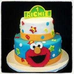 Elmo Birthday Cake by Sweet Times