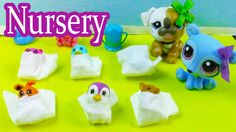 LPS Hospital Baby Nursery - Mommies Part 41 Littlest Pet Shop Series Vid...