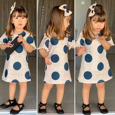 Baby Girl Frocks, Frocks For Girls, Kids Frocks, Dresses Kids Girl, Kids Outfits Girls, Toddler Girl Outfits, Kids Dress Wear, Kids Wear, Baby Dress
