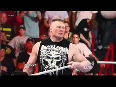 Brock Lesnar is back... in the WWE.