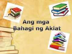Image result for bahagi ng aklat School Projects, Projects To Try, Image