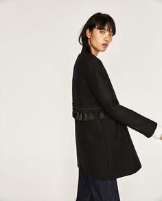 Image 7 of TASSEL WAIST COAT from Zara