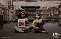 One child is holding something thats been banned in America to protect them. - Democratic Underground