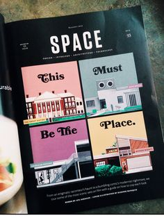Illustrations for Rogue Magazine: Houses from Films on Behance