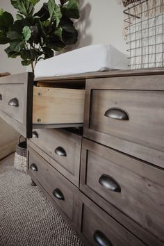 DIY IKEA Tarva Dresser Hack