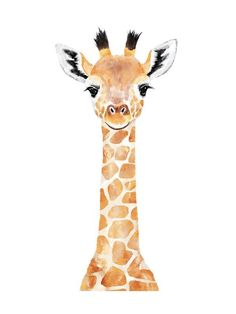 """Baby Giraffe - Kids Open Edition Non-custom Art Print by Cass Loh. - BettiS - ""Baby Giraffe - Kids Open Edition Non-custom Art Print by Cass Loh. Baby Giraffe 2 Wall Art Prints by Cass Loh Baby Wall Art, Baby Art, Art Wall Kids, 2 Baby, Giraffe Painting, Giraffe Art, Giraffes, Cute Giraffe Drawing, Baby Giraffe Nursery"