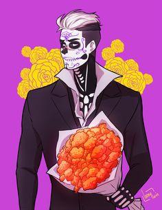 ¡Feliz Día de los Muertos - by loonytwin - Shiro