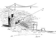 Tadao Ando 4x4 House #architecture #sketches