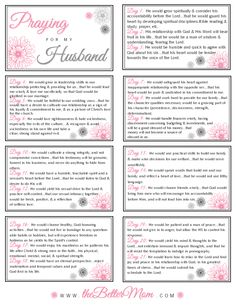 How to have and organize your prayer time as a mom and free beautiful printable prayer cards. Prayers for my husband. Marriage Prayer, Faith Prayer, Love And Marriage, Marriage Poems, Praying For Your Husband, Love My Husband, Husband Prayer, Future Husband, Praying Wife