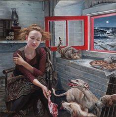 Les Réflexions surréalistes à propos de l'Humanité de Andrea Kowch (10)