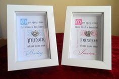 3D FRAME PERSONALISED Beautiful Princess by Beautificator on Etsy