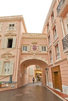Rue Colonel Bellando de Castro - Monaco