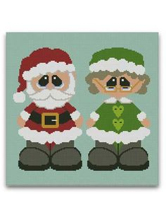 Mr. & Mrs. Claus Graphghan