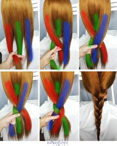 Basic Weaves and Braids Step by Step Guide for Beginners 03