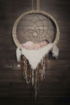 Sweet Dreams | Newborn Photography Session { Dream Catcher } Sweet Baby Girl | Studio | LeeAnne Rose Photography