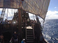 Santa Maria on the open sea (tedesco57) Tags: santa wood columbus ship maria explorer christopher replica sail madeira colombo funchal