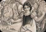 Disney Fine Art Woodland Princess by Edson Campos