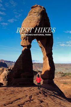 11 Best Hikes in Arches National Park Utah // localadventurer.com