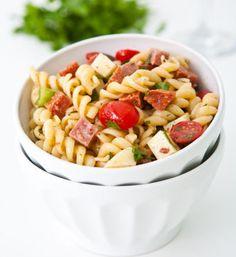 Viva Italia! Favorite Italian Recipes -  Italian Pasta Salad  http://thegardeningcook.com/favorite-italian-recipes/