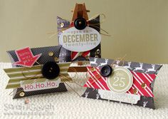 Countdown to Confetti: Bring on the Merry, Tinsel 'n Trim! Sarah Gough www.thinkingstamps.blogspot.com