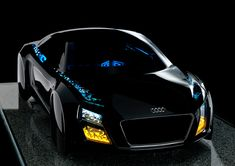AUDI's new automotive lighting technologies at CES 2013