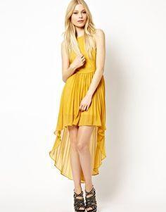 Glamorous Dipped Hem Dress  RRP $59.64