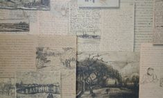 """dada4you:  Van Gogh letters """"The sadness will last forever."""""""