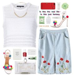 """""""CHIC LOOK CLOSET"""" by novalikarida ❤ liked on Polyvore featuring Thakoon, Charlotte Olympia, Essie, ...Lost, Nintendo, Burt's Bees, Clinique, Shiseido, Fresh and Christy"""
