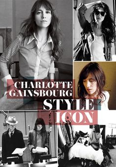 Style Icon - Charlotte Gainsbourg