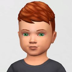 Sims 4 CC's - The Best: Toddlers Hair by synthsims