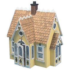 The name says it all. The Buttercup Dollhouse is an quaint, attractive cottage style dollhouse. It's charming design makes it perfect for the miniature collectors and decorators alike. Make this littl
