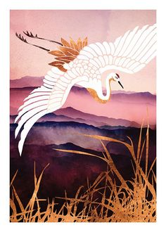 Elegant Flight III Plakat